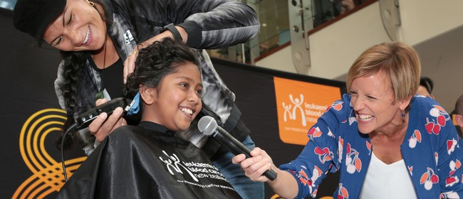 Shave for a Cure Launch Event
