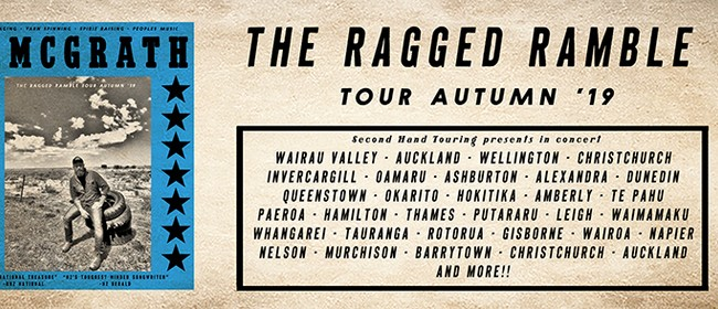 Adam McGrath - Ragged Ramble Tour - Queenstown: CANCELLED