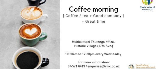 Tauranga Newcomers Network Coffee Morning