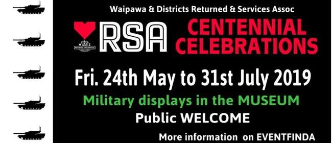 Waipawa & Districts RSA Centennial Celebration