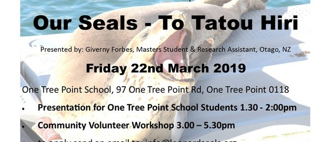 Leopard Seals Event for Seaweek