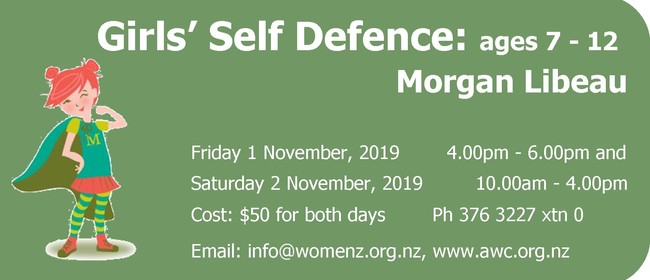 Girls' Self-Defence Workshop (7-12 Years)