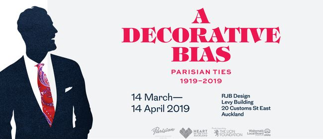 A Decorative Bias: Parisian Ties 1919-2019