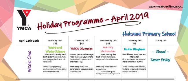 YMCA April Holiday Programme