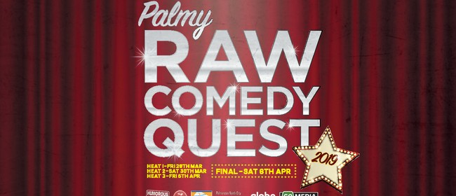Hawkes Bay Raw Comedy Quest 2019