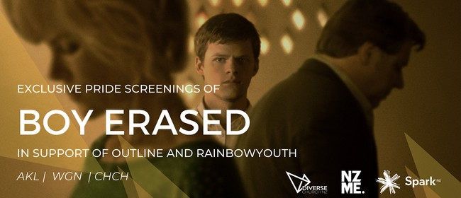 Boy Erased - Exclusive NZ Release