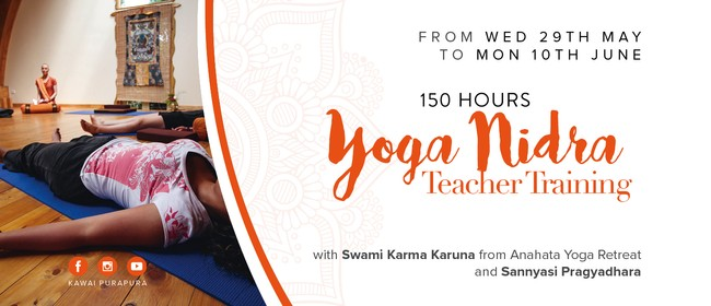 150 Hours Yoga Nidra Teacher Training: CANCELLED
