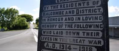 Halcombe Community ANZAC Day 2019