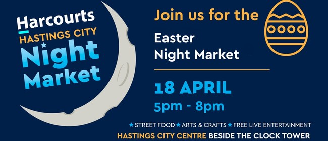 Harcourts Hastings City Easter Night Market