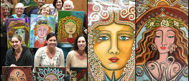 Paint Your Inner-Guide Portrait: Intentional Creativity Work