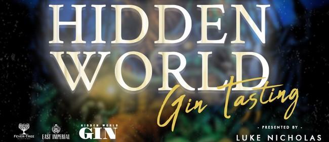 Hidden World Gin Tasting