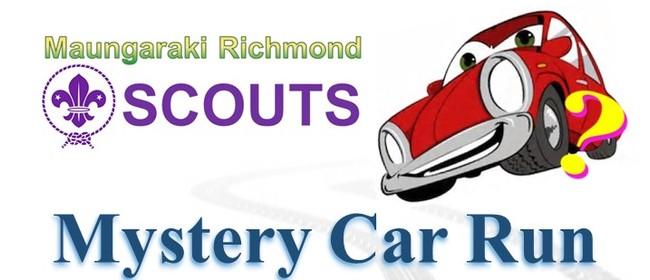 Maungaraki Scouts Mystery Car Run