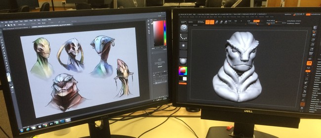Digital Sculpting - School Holiday Programme
