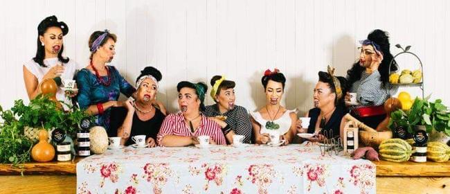 Hākari with the Aunties