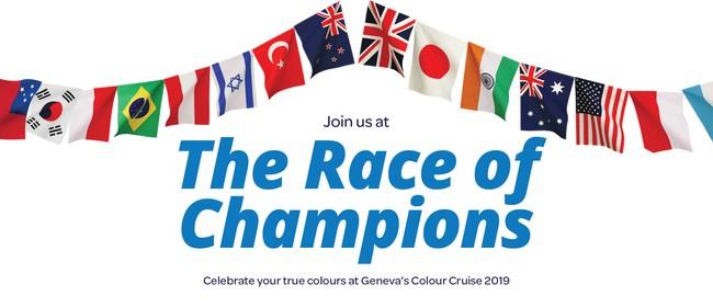 Geneva Healthcare's Colour Cruise: The Race of Champions