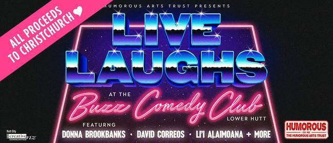 Buzz Comedy Club presents: Donna Brookbanks + David Correos