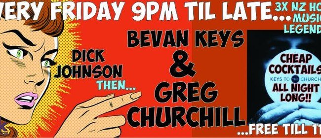 Keys to the Church: Greg Churchill, Bevan Keys, Dick Johnson