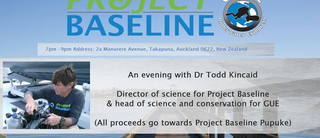 An Evening with Dr Todd Kincaid & Project Baseline