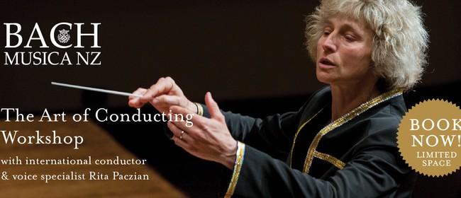 BMNZ Workshop Series 2019: Conducting Workshop