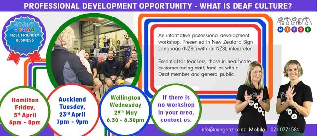 Deaf Culture & NZSL Training