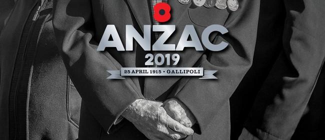 Anzac Day Tauranga Civic Memorial Service