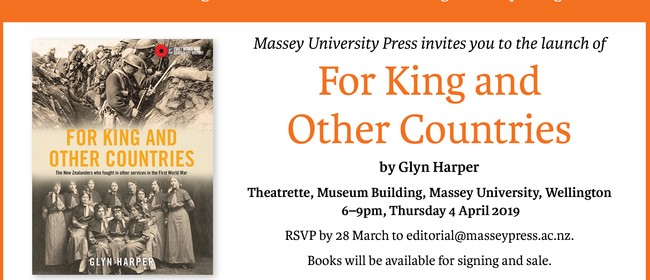 Book Launch: For King and Other Countries