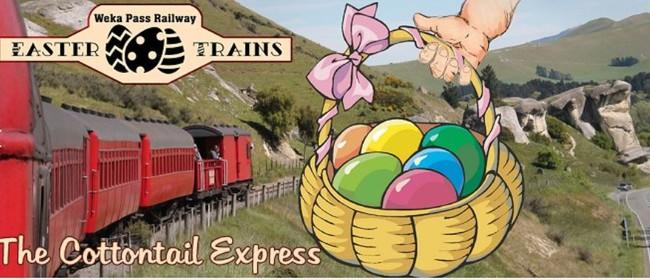 Weka Pass Railway's Cottontail Express