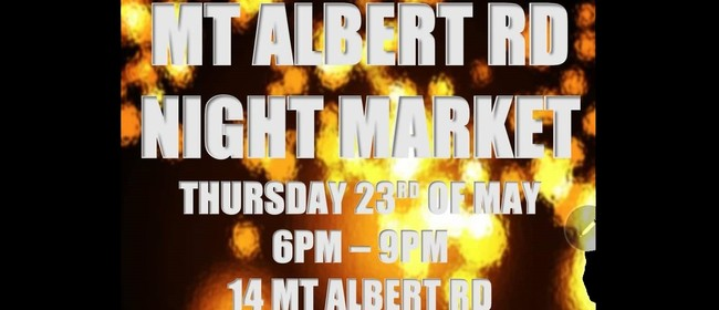 Mt Albert Rd Night Market