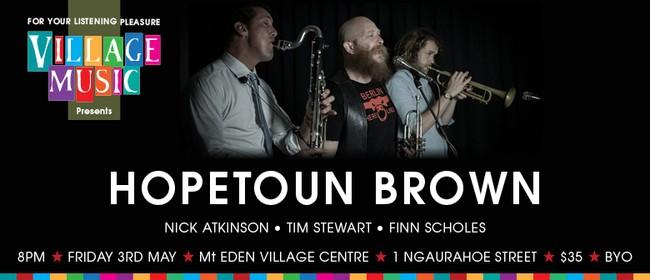 Hopetoun Brown in Concert