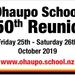Ohaupo School 150th Reunion