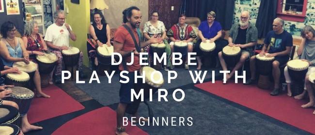 Djembe Playshop with Miro: Beginners
