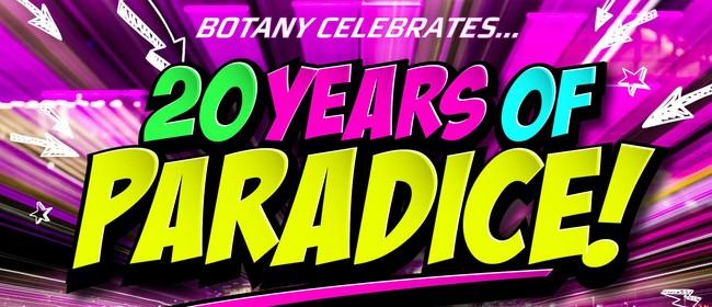 Paradice Ice Skating Botany Celebrates 20 Years 90's Party