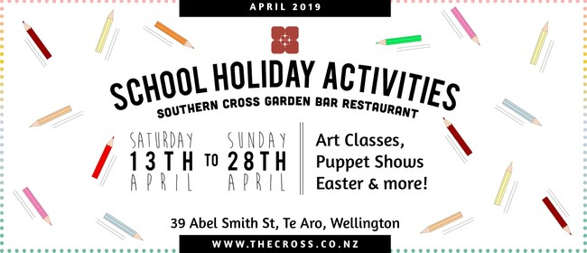 Kids School Holiday Art Classes