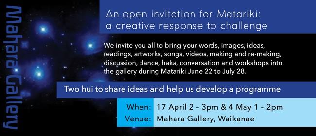 Matariki Hui: A Creative Response to Challenge