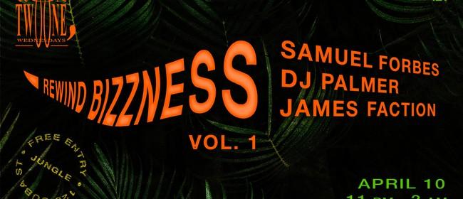 Rewind Bizzness Vol.1 (A Night of Jungle & Footwork)
