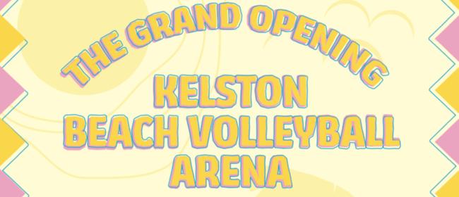 Kelston Beach Volleyball - Grand Opening