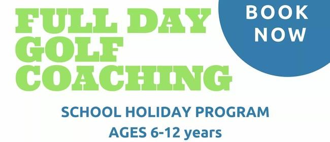 Full Day Golf School Holiday Program