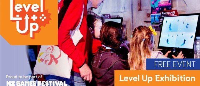 Level Up at NZ Games Festival