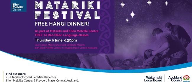 Matariki Celebration - With Hāngi Dinner