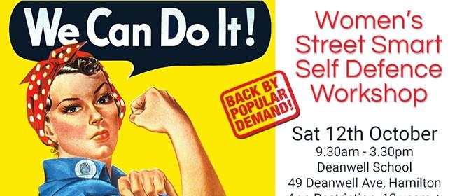 Women's Street Smart Self Defence Workshop