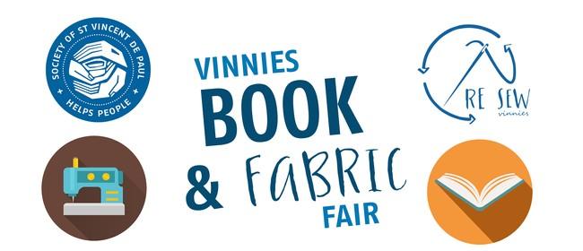 Vinnies Book & Fabric Fair