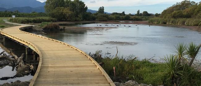 Opening of The Grovetown Lagoon Loop Track