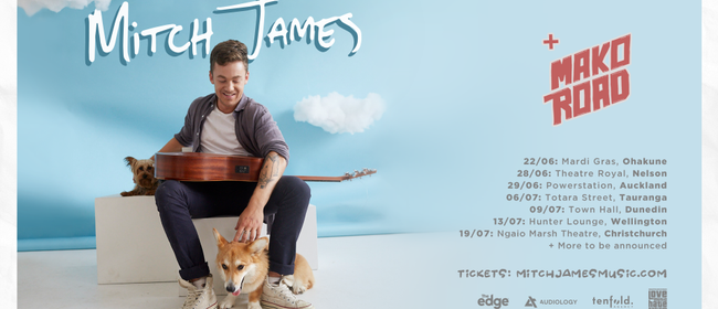 Mitch James - Bright Blue Skies Tour