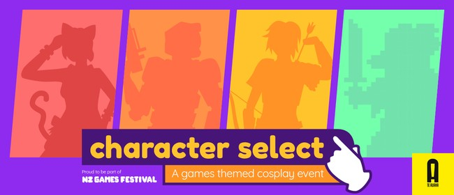 Character Select - A Games-Themed Cosplay Event