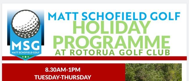 Matt Schofield Golf Holiday Programme
