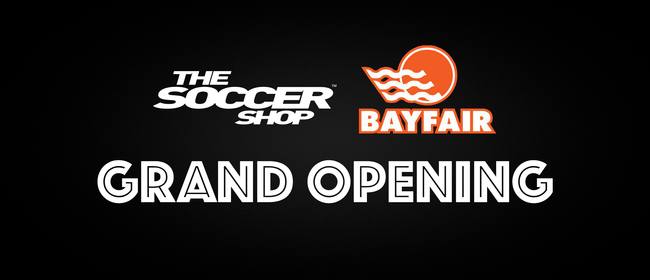Grand Opening Event - The Soccer Shop Bayfair
