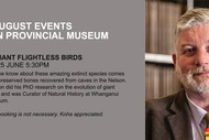 Extinct Giant Flightless Birds