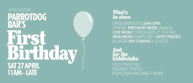 Parrotdog Bar - First Birthday Party