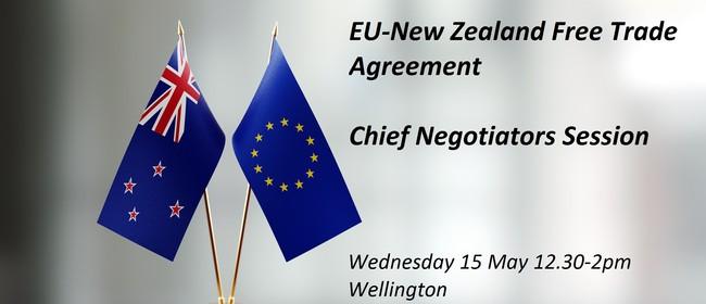 EU-New Zealand Free Trade Agreement - Chief Negotiators Talk