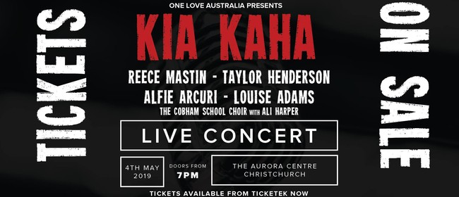 Kia Kaha Concert - (Australia's Tribute to Christchurch)